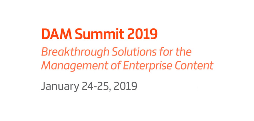Digital Asset Management Summit 2019 – DAM Summit