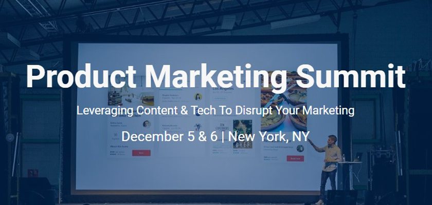 Product Marketing Summit 2018
