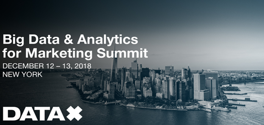 Big Data & Analytics for Marketing Summit New York 2018