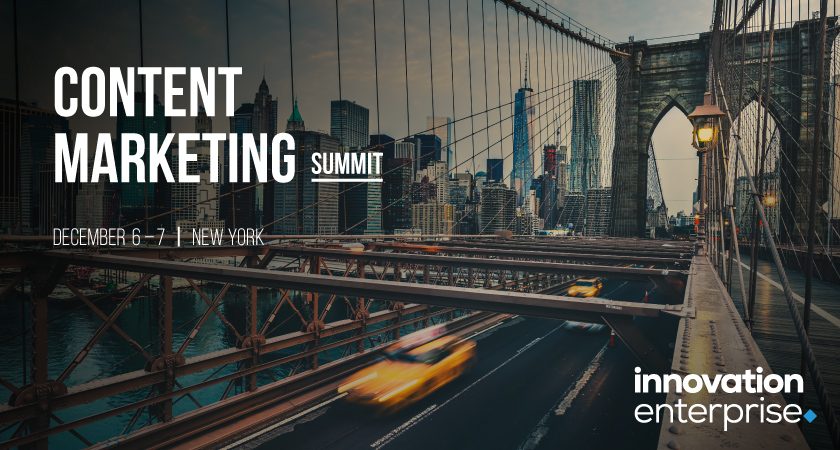Content Marketing Summit New York 2018