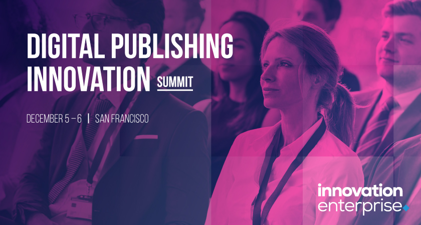 Digital Publishing Innovation Summit San Francisco 2018