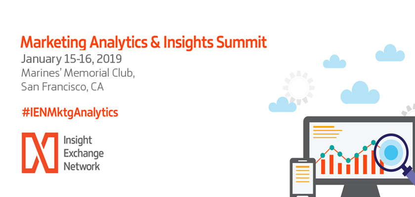 Marketing Analytics & Insights Summit 2019