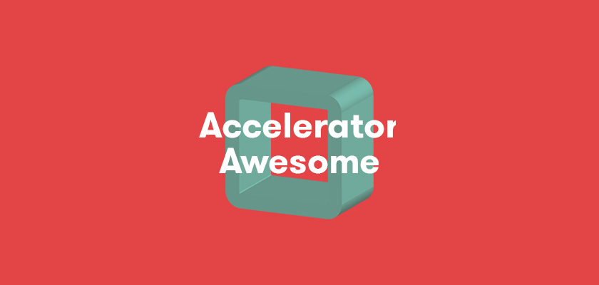 Accelerator Awesome 2018