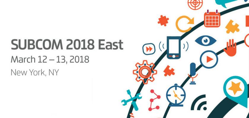 Digital Marketing Conferences - SUBCOM 2018 East
