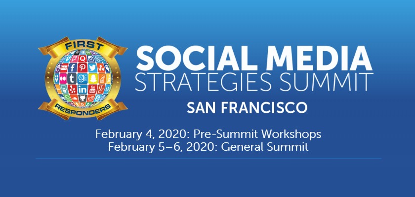 Social Media Strategies Summit First Responders 2020