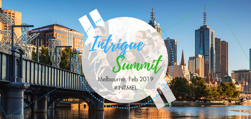 Intrigue Summit Melbourne 2019