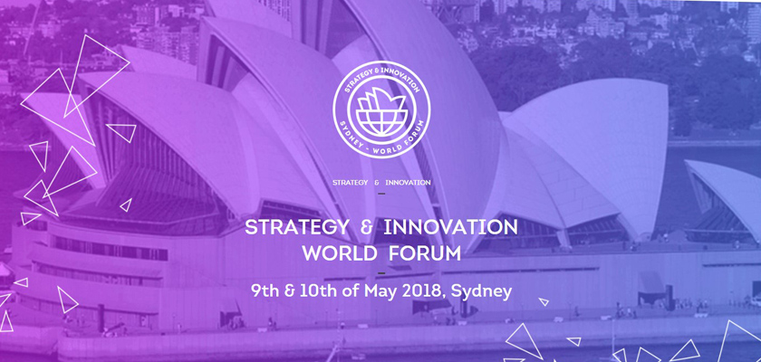 Strategy & Innovation World Forum Sydney 2018