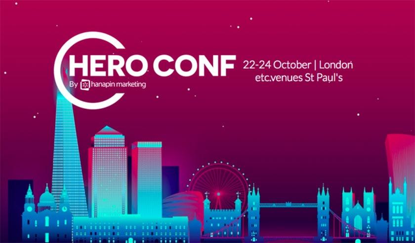 Digital Marketing Conferences - Hero Conf 2019